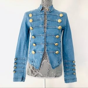 ✌️Free People Denim Jacket Size SM✌️